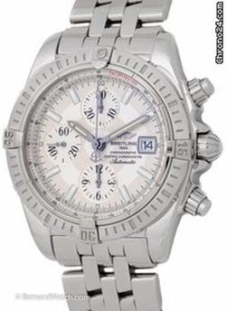 Chronomat Watch by Breitling in Nightcrawler