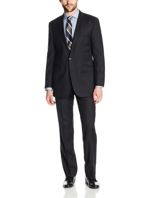 Men's Black Suit by Ben Sherman in Get On Up