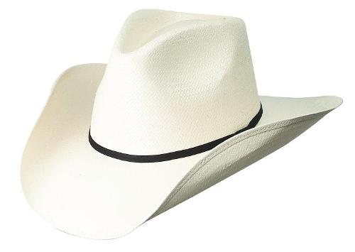 Mens Canvas Vintage White Cowboy Hat by Dorfman Pacific in Anchorman 2: The Legend Continues