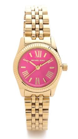 Preppy Chic Petite Lexington Watch by Michael Kors in Let's Be Cops