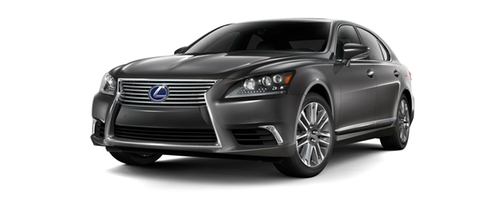 LS Hybrid Sedan by Lexus in Suits