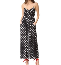 Embroidered Wide Leg Jumpsuit by Mara Hoffman in Fuller House