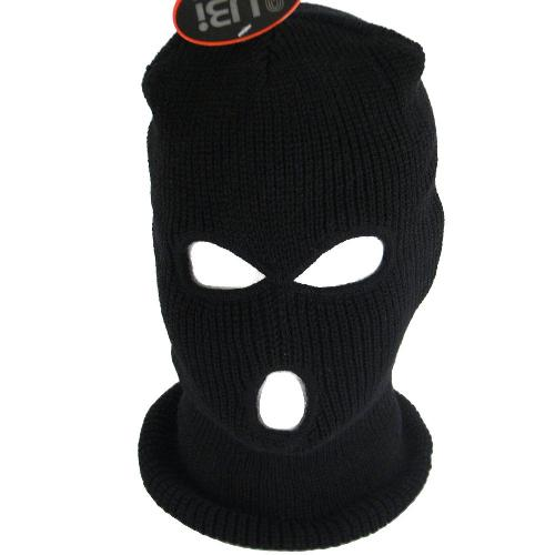 SKI FACE MASK KNIT BEANIE BIKER SNOWBOARD by SK Hat shop in Sabotage