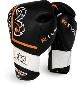 Hook-and-Loop Sparring Gloves by Rival in Southpaw