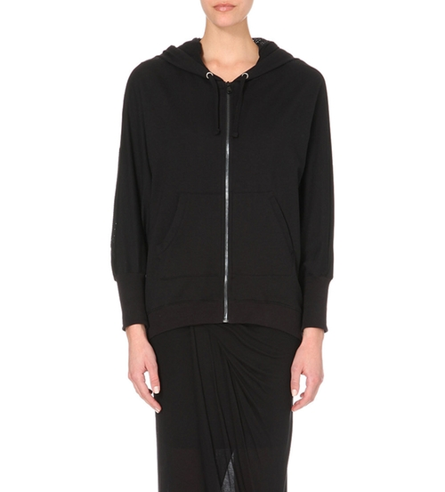 Revere Mesh Panel Hoodie by Drifter in Keeping Up With The Kardashians
