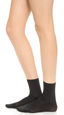 Velvet 66 Socks by Wolford in That Awkward Moment