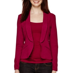 Long-Sleeve Blazer by Decree in The Big Bang Theory