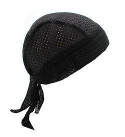 Stretch Mesh Sport Easy Tie Du-Rag by Hiphopville in American Sniper