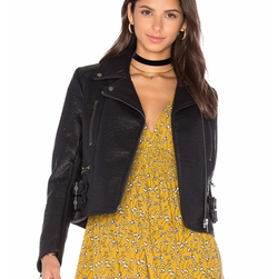 Soho Vegan Leather Jacket by Free People in Roadies