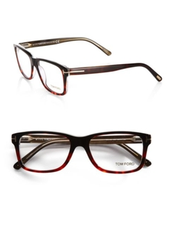 Square Optical Frames by Tom Ford Eyewear in Youth