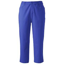 Essential Capris - Women's by Croft & Barrow in Tammy