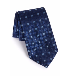 'Perfect Squares' Silk Tie by Nordstrom Men's Shop in Billions