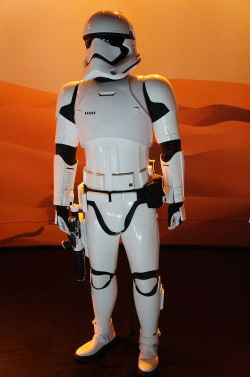 Custom Made Storm Trooper Uniform (Finn) by Ralph McQuarrie (Concept Artist) in Star Wars: The Force Awakens