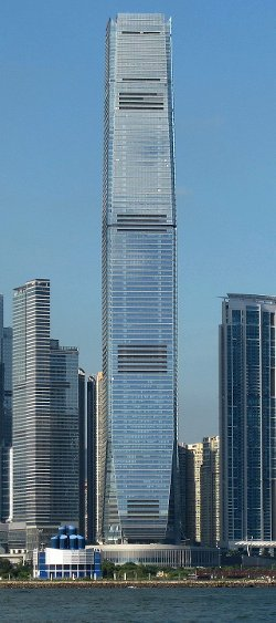 Hong Kong, China by International Commerce Centre in Blackhat
