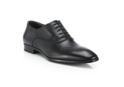 Textured Oxford Shoes by Hugo Boss in Arrow