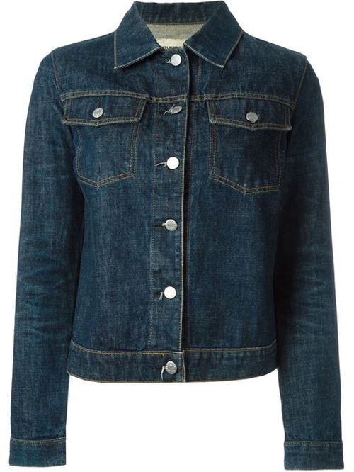 Classic Raw Denim Jacket by Helmut Lang Vintage in Jessica Jones