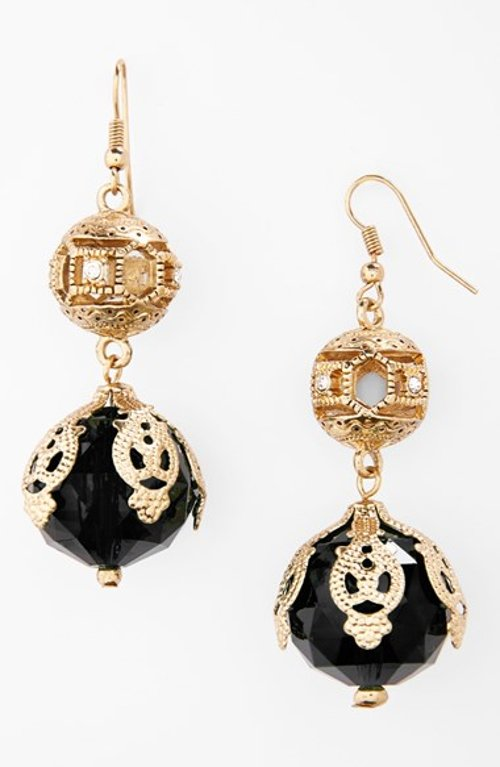 Victorian Bauble Drop Earrings by Robert Rose in Need for Speed