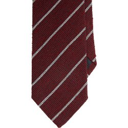 Dash-Stripe Grenadine Neck Tie by Uman in Taken 3