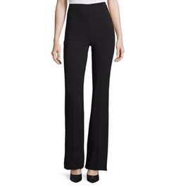 Demitria Admiral Crepe Flare-Leg Pants by Theory in Will & Grace