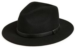 'Messer' Fedora Hat by Brixton in Creed