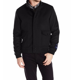 Holman Cashmere Bomber Jacket by Hart Schaffner Marx in The Flash