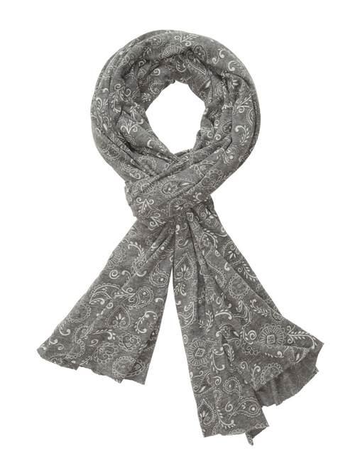 Printed Bundle Up Scarf by Alternative in Side Effects