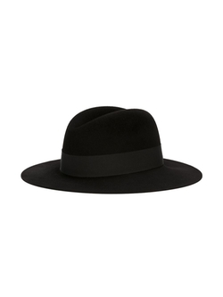 Classic Fedora Hat by Saint Laurent in The Hateful Eight