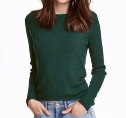 Rib-Knit Jumper by H&M in Shadowhunters