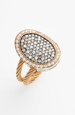 Diamond Cocktail Ring by Alor in The Man from U.N.C.L.E.