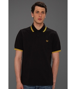 Twin Tipped Fred Perry Polo by Fred Perry in Kingsman: The Secret Service