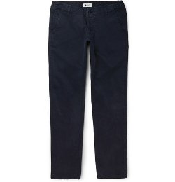 Simon Brushed Cotton-Twill Chinos by NN.07 in Begin Again