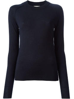 Round Neck Fitted Sweater by Forte Forte in The Gift