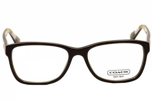 Square Frame Julayne Eyeglasses by Coach in The Mindy Project - Season 4 Episode 8