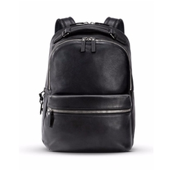 Runwell Leather Backpack by Shinola in Master of None