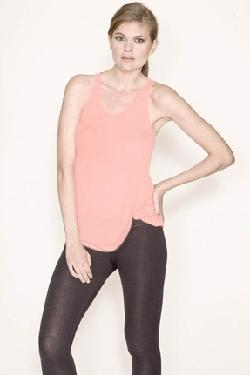 Pocket Tank in Powder Pink by Kain Label in Vampire Academy