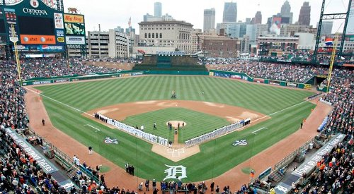 Comerica Park Detroit, MI in Need for Speed