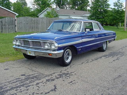 1964 Galaxie 500 Sedan Car by Ford in Legend