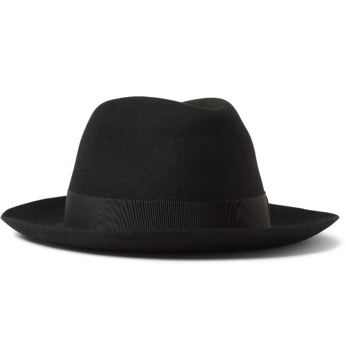 Felt Fedora Hat by Borsalino in The Man from U.N.C.L.E.