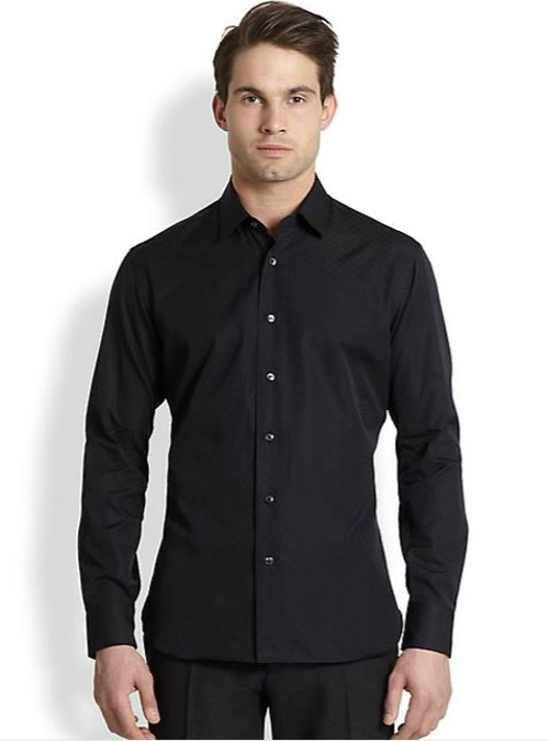 Jacquard Gancini Sportshirt by Salvatore Ferragamo in The Second Best Exotic Marigold Hotel