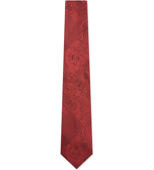 Jacquard Solid Paisley Tie by Etro in The Good Wife - Season 7 Episode 8
