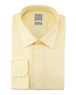 Tonal Textured Dress Shirt by Ike Behar	 in Daddy's Home
