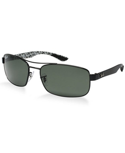 Metal Rectangle Sunglasses by Ray-Ban in Mad Dogs