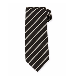 Neat Diagonal-Stripe Silk Tie by Tom Ford in Assassin's Creed