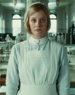 Custom Made Nurse Uniform by Jacqueline Durran (Costume Designer) in Atonement
