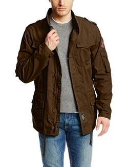 Ingram Field Coat by Alpha Industries in The Walk