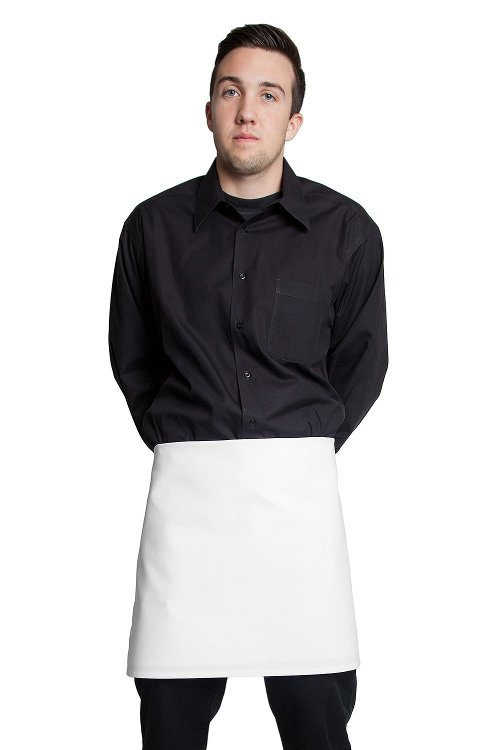 Half Bistro Apron by Fiumara Apparel in The Counselor