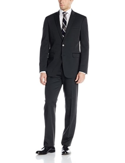 Men's Tech Suit Peak Lapel by Calvin Klein  in Quantico