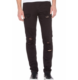 Distressed Panel Denim Jeans by Stampd in Empire