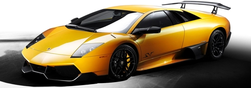 Murcielago LP670 Super Veloce Sports Car by Lamborghini in Ride Along 2