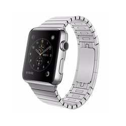 Stainless Steel Case with Link Bracelet Watch by Apple in Modern Family